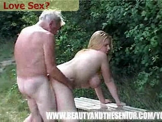 Young Chick gets fucked by an old man