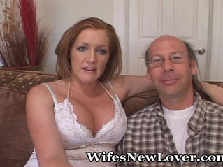 Hubby Is A Nerd, But Wife Is Hot