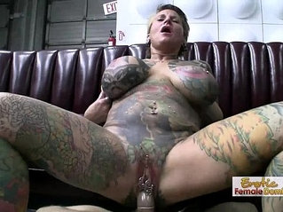 Exotic Tattooed MILF Having Hardcore Sex