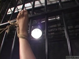 CFNF Japanese lesbian BDSM with petite woman Subtitled